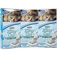 Alfa Pet Kitty Cat Pan Liners, 10 count, Pack of 3