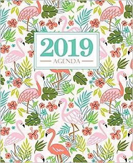 Agenda 2019: 190 x 235 mm : Agenda 2019 semana vista español ...