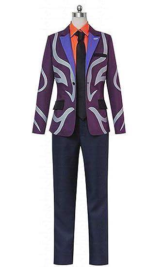 92e125c7f57c Amazon.com: Tokyo Ghoul Shu Tsukiyama Uniform COS Clothing Cosplay Costume:  Clothing