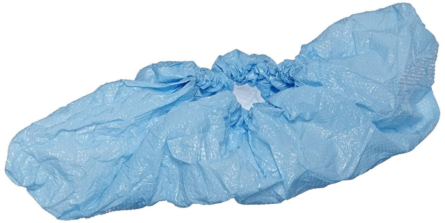 Enviroguard CPE Shoe Cover, Disposable, Blue, Universal (Case of 1000) by International Enviroguard (Image #1)