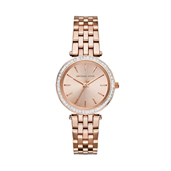 2fb1dcbee4db2 Amazon.com  Michael Kors Women s Darci Rose Gold-Tone Watch MK3366  Michael  Kors  Watches