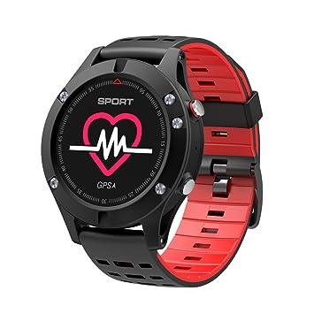 1 F5 tasa reloj inteligente pulsera elevación Temperatura Presión de aire monitor de frecuencia cardíaca resistente al agua deportes al aire libre relojes ...