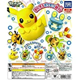 Pokemon Manmaru Round Figure Netsuke~Moblie Charm~Fennekin Fokko Feunnec~