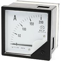 Sourcingmap - 80mm panel cuadrado ac 200a 200/5