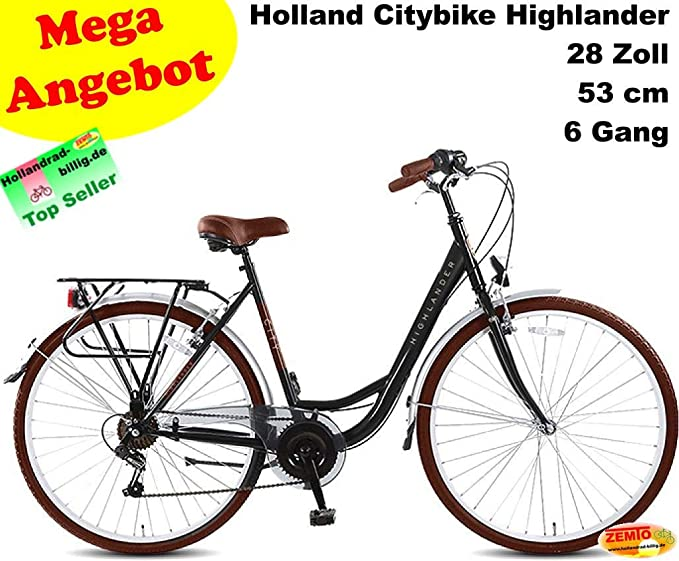 Vogmas Highlander - Bicicleta Holandesa para Mujer (28