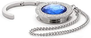 Bag Hanger - Porte-sac à main - conception diamant (Bleu foncé C23)