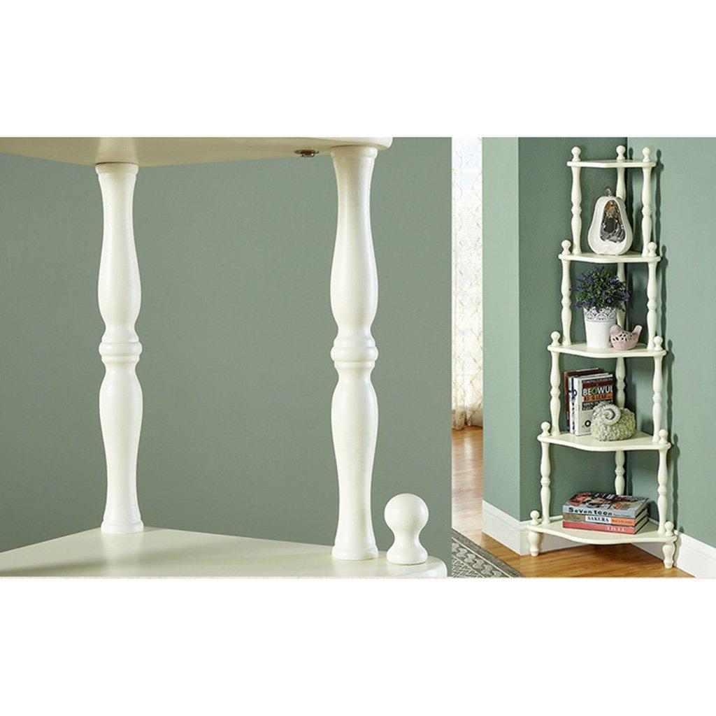 Amazon.com: LTJ-SWEET Bedroom Corner Shelf Landing Bookshelf Living ...
