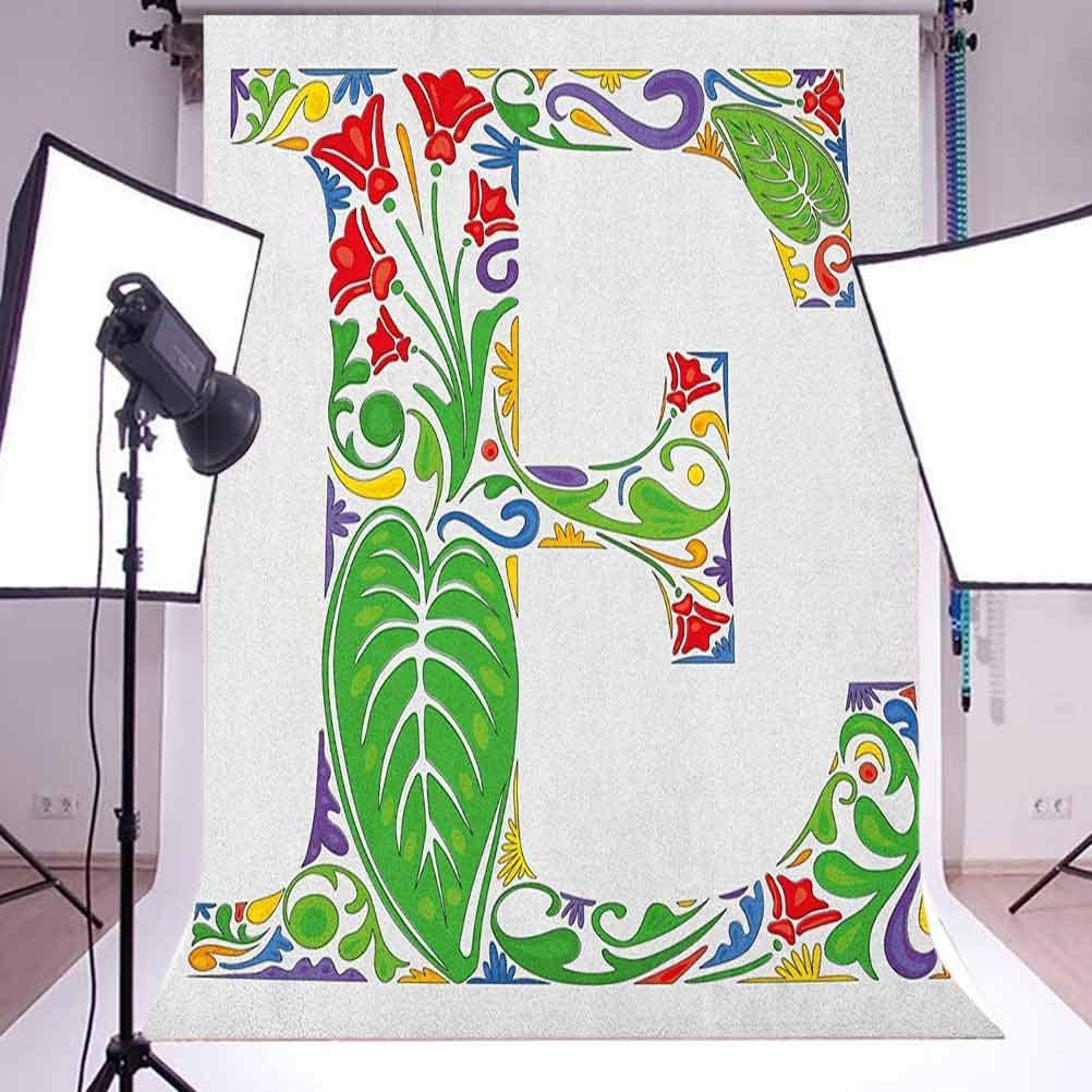 7x10 FT Vintage Vinyl Photography Background Backdrops,Swirls and Curves Pattern with Medieval Inspirations Victorian Designs Background for Selfie Birthday Party Pictures Photo Booth Shoot