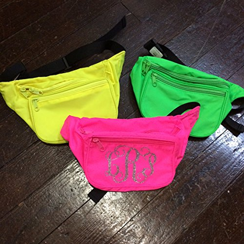 Monogrammed Fanny Pack by Campus Connection