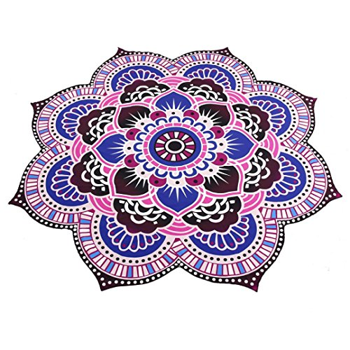 Price comparison product image Usstore 1PC Mandala Towel Pool Home Shower Beach Towel Swimwear Bathing Suit Wall Hanging Bedspread tablecloth Cloth Yoga Mat Throw Decor (A)