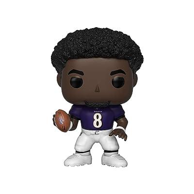 Funko POP! NFL: Lamar Jackson (Ravens): Toys & Games