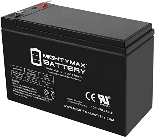Mighty Max Battery 12V 8Ah Compatible Battery for APC RBC105 UPS 10 Pack Brand Product