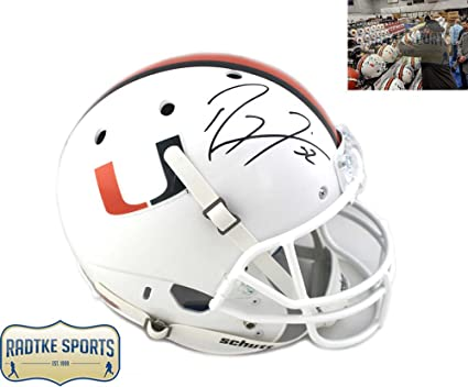Image Unavailable. Image not available for. Color  Ray Lewis Autographed Signed  Miami Hurricanes ... 32fa6e5b9