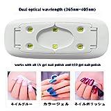 UV LED nail dryer Mini Gel nail lamp Portable
