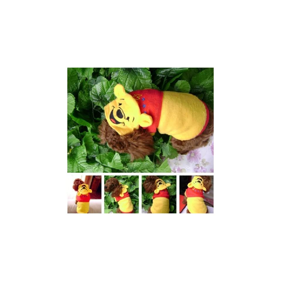 CET Domain SZ18 4005 18 Winnie the Pooh Dog Suit for Cute Pets Clothing & Apparel Size 18