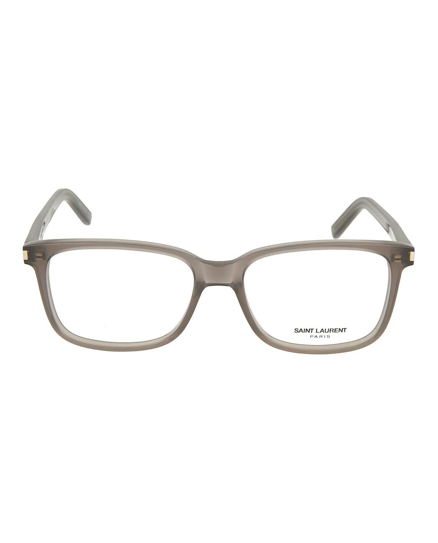 Saint Laurent Mens Square//Rectangle Optical Frames SL89-30000085-003