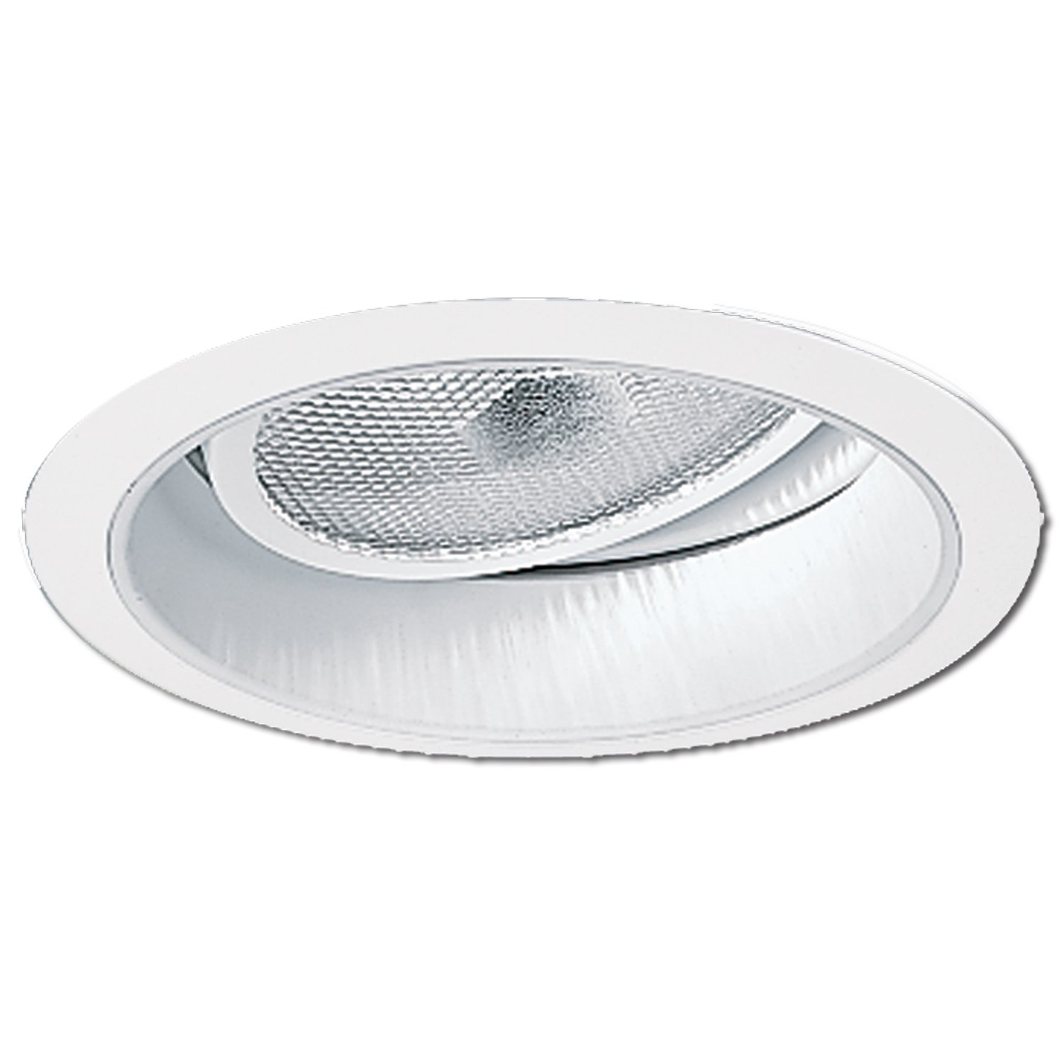 Halo Recessed 478P 6-Inch Adjustable Splay Reflector Trim, White