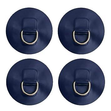 4x D-Ring Befestigung f/ür iSUP inflatable Boards und Schlauchboote