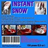 Amazing Instant Snow - Just Add Water [ 5 Ounces or 150 Gram ] -MADE IN JAPAN