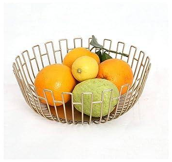 YANFUYING Frutero Canasta de Frutas Canasta de Frutas Cesta de Frutas Multifuncional Plato de Frutas Decorado