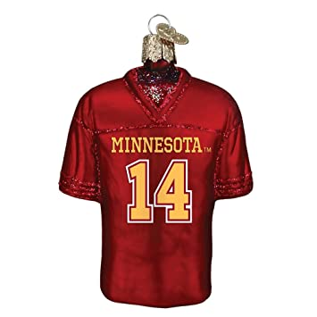 pretty nice 2d964 5f0e1 Amazon.com : OLD WORLD CHRISTMAS MINNESOTA GOLDEN GOPHERS ...