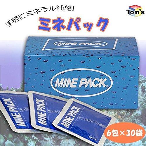 手軽にミネラル補給 ミネパック 1箱(6包×30袋) B077Q9FYFW