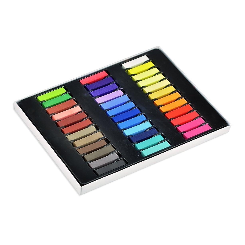 磁石農業かんたん【即日発送】【全24色】ヘアチョーク ヘアカラーチョーク Hair color chalk