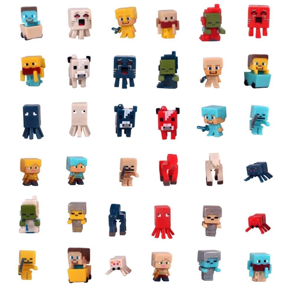 Party Gift for Kids Mini Figure 36 Set 1 Inch FF
