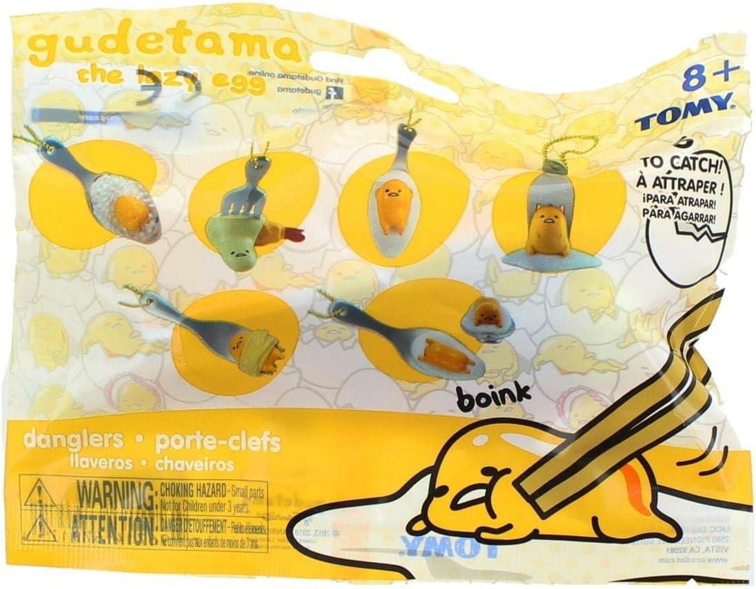 C/&U Gudetama Lazy Egg Figure Keychain Hangers 1 Blind Bag UCC Distributing Inc.