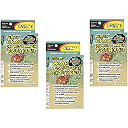 (3 Pack) Zoo Med Laboratories Hermit Crab Drinking Water Conditioner 2.25-Ounces Each