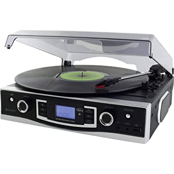 Soundmaster PL525 Tocadiscos Reproductor, con Funcion de ...