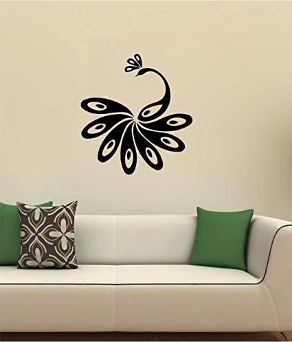 Buy Pickok Vinyl Wall Sticker Decor Bedroom Drawing Room Black Online At Low Prices In India Amazon In