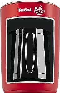 ماكينة تحضير قهوة تركي بشاشة تعمل باللمس من تيفالCM820534 ، 4 اكواب - احمر