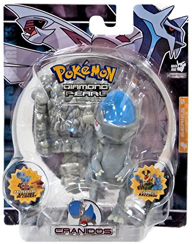 Pearl Figure Toy - Pokemon Diamond and Pearl Series 5 Cranidos Action Figure