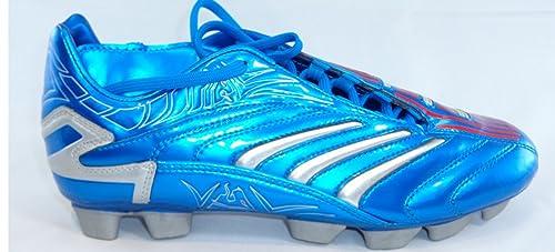 c519d482f0abb adidas Predator Absolion TRX HG Db David Beckham Fútbol Guantes de Pesca  Azul Plata Rojo
