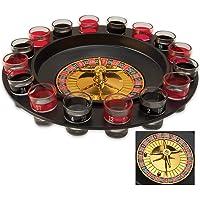 Maxam Sproult - Juego de ruleta para beber, 16 caballitos