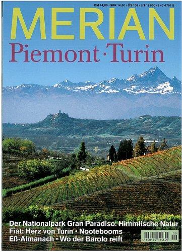 MERIAN Piemont/Turin (MERIAN Hefte)