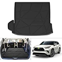 KUST - Alfombrilla para maletero trasera para Toyota Highlander 2020-2021 solo compatible con modelos L, LE, XLE (sin…