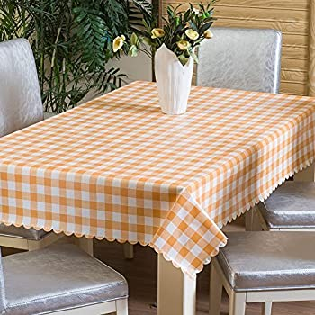 Uforme Home 54 Inch By 72 Inch Table Cover Waterproof And Heat Resistant,  Non