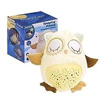 Deals on Baobe Sleep Soother Owl Plush White Noise Sound Machine