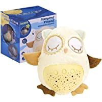 Baobe White Noise Sound Machine Sleep Soother Owl Plush Nightlight Projector