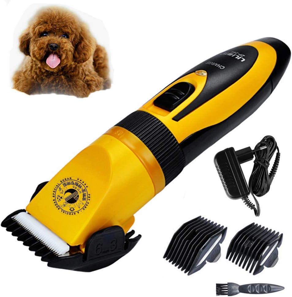 NMQQ - Cortador de Pelo para Gato, Profesional, Recargable, 35 W, eléctrica, para Mascotas, afeitadora de Animales, máquina de Corte de Pelo AC110-240 V