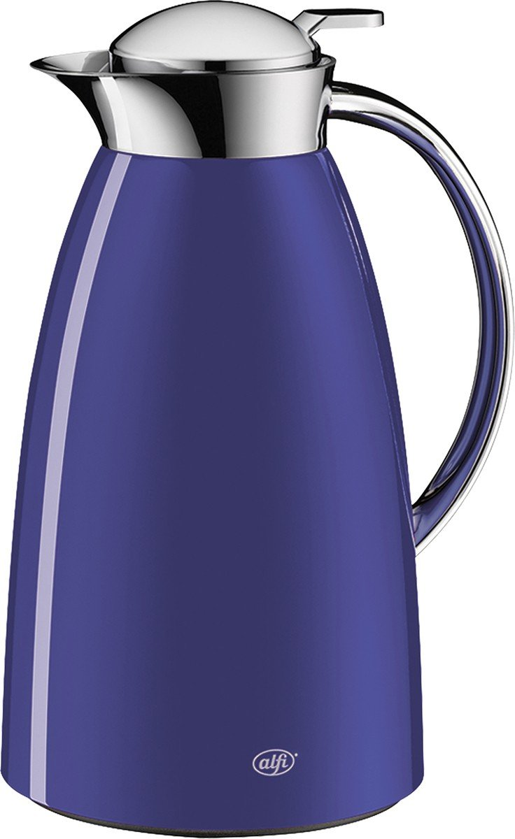 Alfi Gusto Metall 3521219100 Isolierkanne 1 Stück (1 Liter, 17 x 15 x 27.5 cm) space grau 3521.218.100