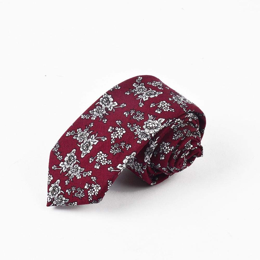 Littlefairy Hombre Designer Corbata,Lazo de algodón Estampado de ...