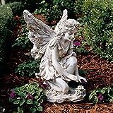 Classic Garden Flower Fairy Sculpture Statue Figurine Review