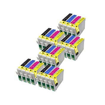 24 ECS Cartuchos de Tinta Compatible reemplazar T1285 para Epson ...
