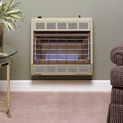 Empire Vent-Free Blue Flame Heater LP 30000 BTU, Thermostatic Control