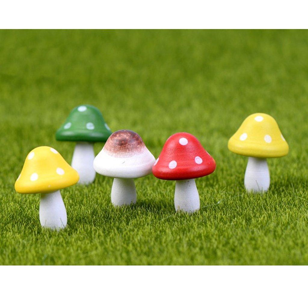 Amazon.com: 10pcs Miniature Dollhouse Fairy Garden Wood Landscape ...