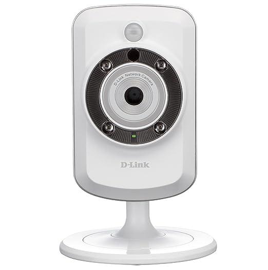 935 opinioni per D-Link DCS-942L Videocamera di Sorveglianza, Wi-Fi N, Visore Notturno,