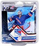 henrik lundqvist action figure - Henrik Lundqvist New York Rangers McFarlane NHL Series 32 Collector Level Bronze CHASE